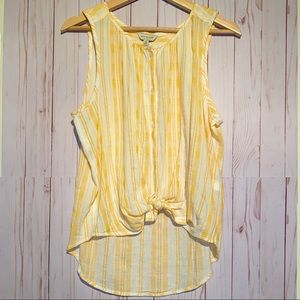 Lucky Brand Striped Tank Top